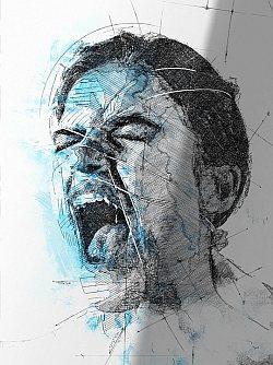 schreien wut frust